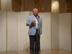 武井副代表幹事による乾杯